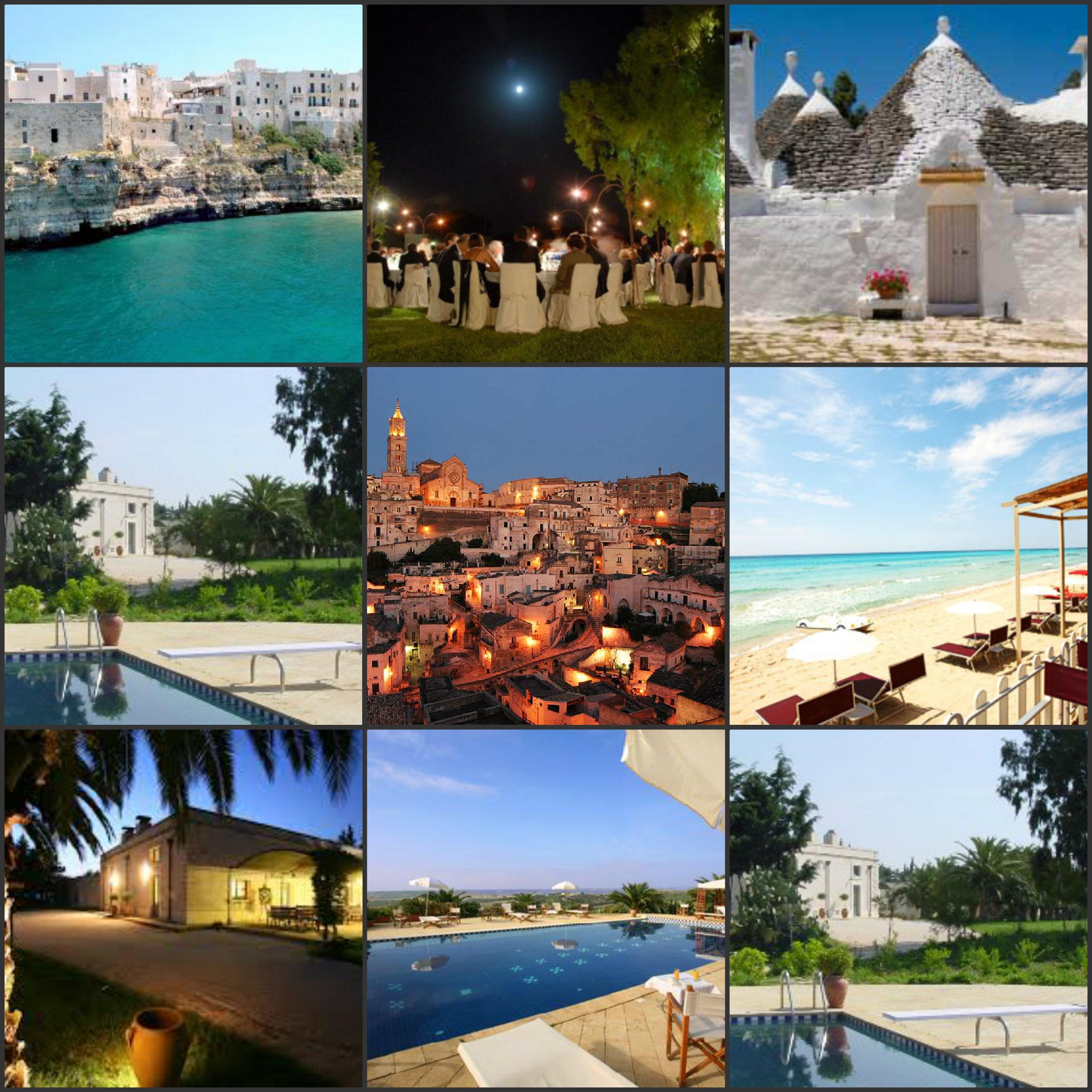 Collage Puglia