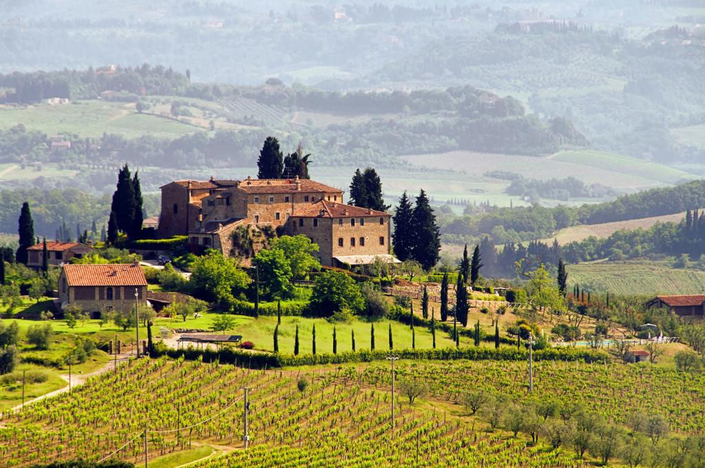 Toscane: Castellare di Tonda